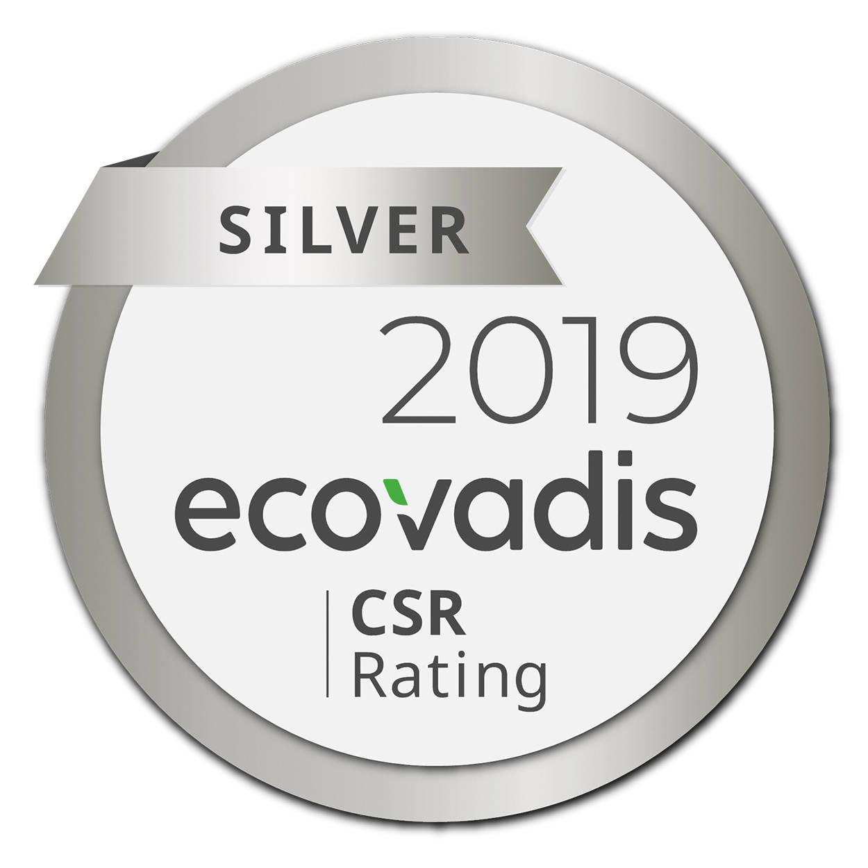 Společnost THIMM získává stříbrnou medaili EcoVadis