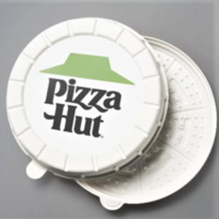 Pizza Hut a kruhové krabice na pizzu