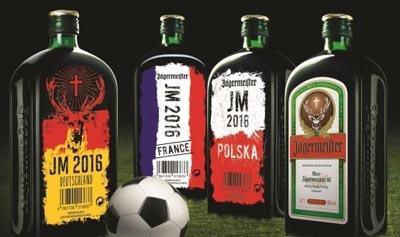 Zvláštní edice likéru Jägermeister k FM -EURO 2016