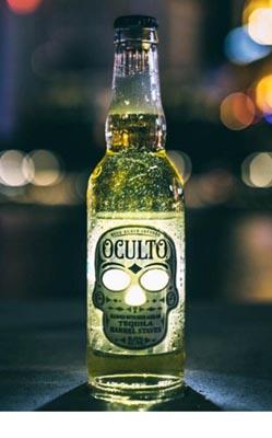 Láhev piva Oculto je ještě strašidelnější