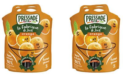 Ovocné šťávy v obalech Pouch-Up