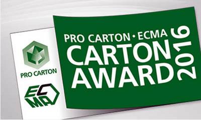 Pro Carton/ECMA Award 2016